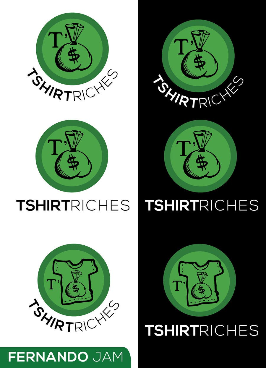 Bài tham dự cuộc thi #                                        49                                      cho                                         Design a Logo for TshirtRiches