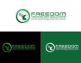 nº 852 pour Design a Unique Company Logo for FREEDOM TECHNOLOGY SOLUTIONS par eddesignswork