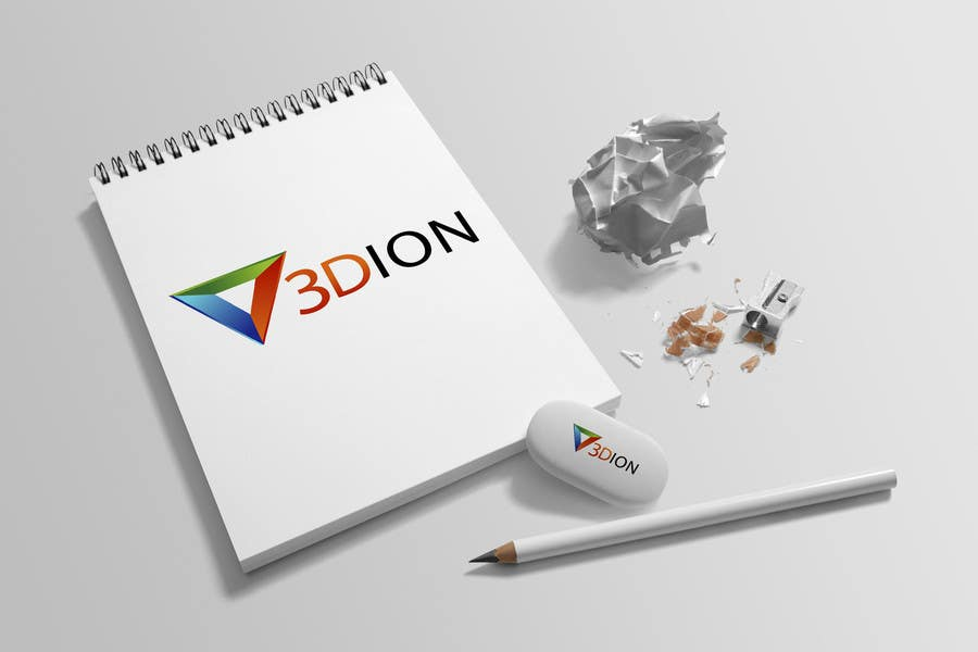 Proposition n°76 du concours Design a Logo for 3DION & THE 3D PRINTER