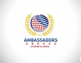 #42 for AMBASSADORS ABROAD LOGO by CTLav