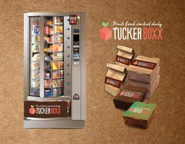 sonotdesign tarafından Graphic Design (logo, signage design) for TuckerBoxx fresh food vending machines için no 122