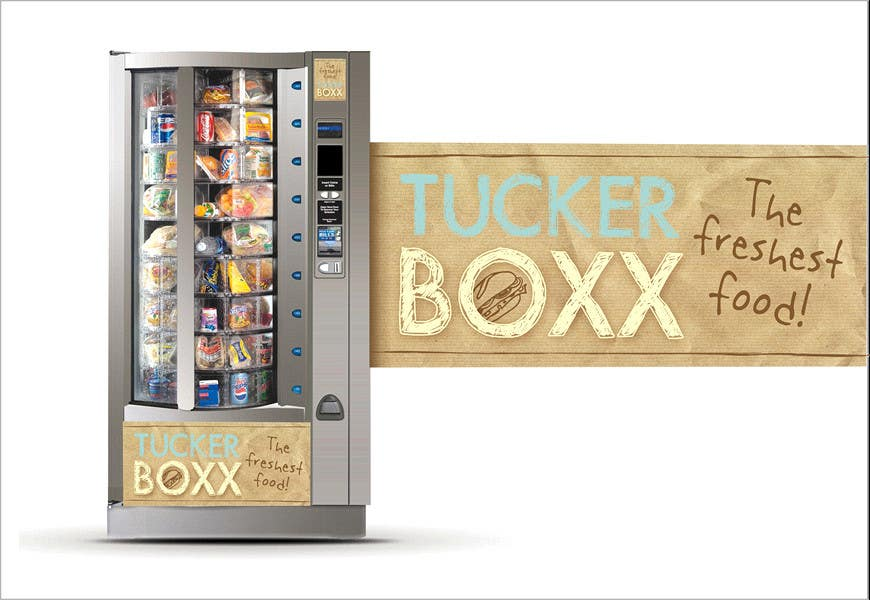 Contest Entry #                                        60                                      for                                         Graphic Design (logo, signage design) for TuckerBoxx fresh food vending machines