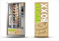 Graphic Design Inscrição do Concurso Nº93 para Graphic Design (logo, signage design) for TuckerBoxx fresh food vending machines