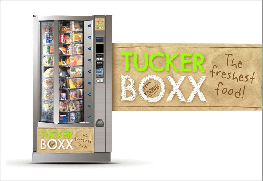 Inscrição nº                                         62                                      do Concurso para                                         Graphic Design (logo, signage design) for TuckerBoxx fresh food vending machines