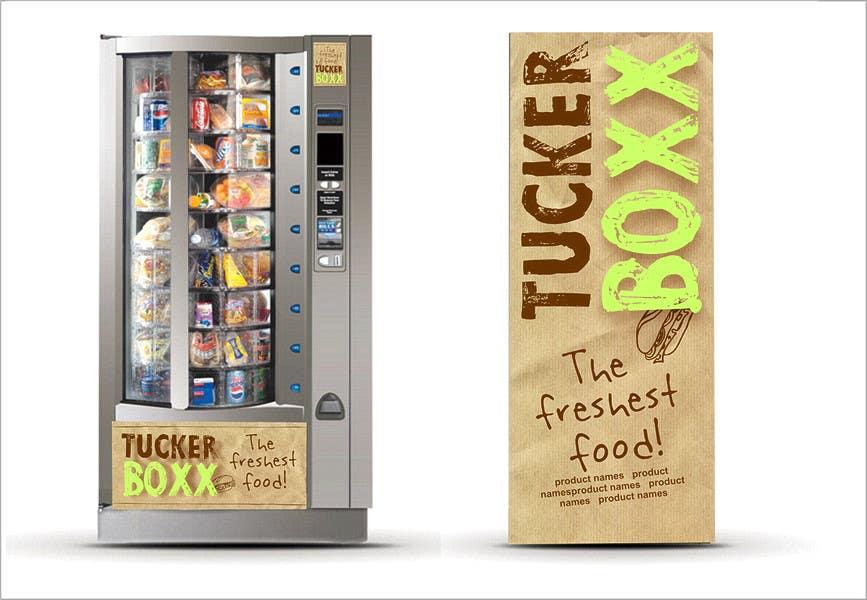 Inscrição nº                                         141                                      do Concurso para                                         Graphic Design (logo, signage design) for TuckerBoxx fresh food vending machines