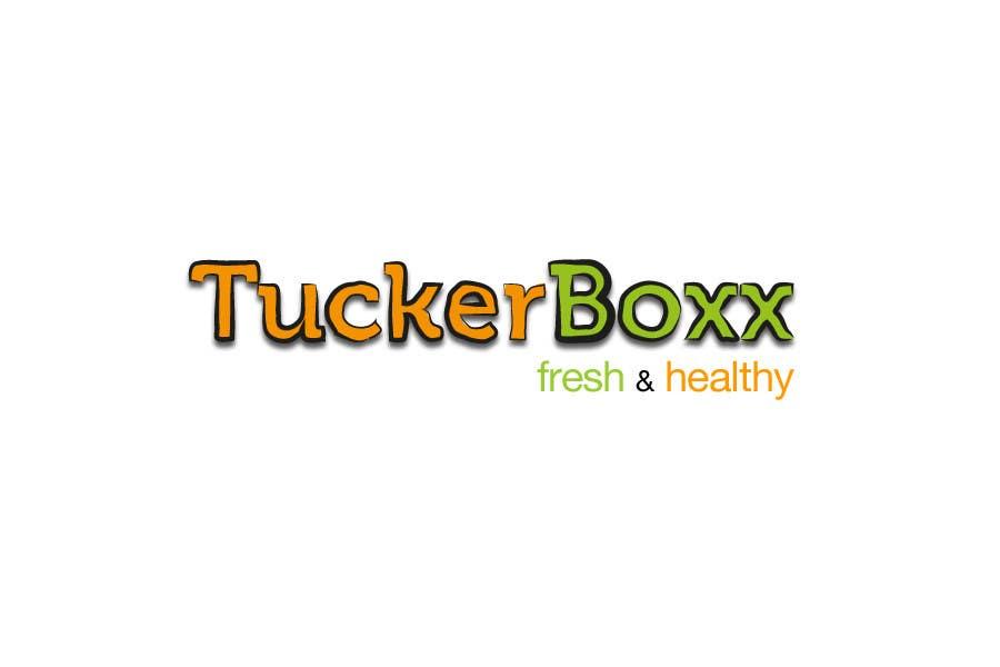 Конкурсная заявка №54 для Graphic Design (logo, signage design) for TuckerBoxx fresh food vending machines