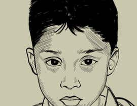 #26 para Caricature design of my son por adityanair90
