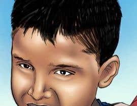 #35 para Caricature design of my son por adityanair90