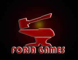 welros82 tarafından Logo design for Forja Games [Forja = Forge] için no 32