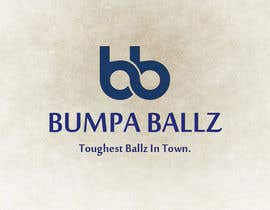 "xdesign123 tarafından Create a LOGO for business name ""BUMPA BALLZ"" & one for ""BB"" - include slogan ""Toughest Ballz in town"" için no 76"