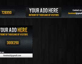 "#40 for Design a banner for ""YOUR AD HERE"" live sports site af mayerdesigns"