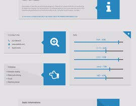 #22 para I need to buy 10 infographic CV template (6 in Arabic Languages, 4 in English) por myrusdesign