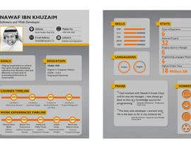 #16 para I need to buy 10 infographic CV template (6 in Arabic Languages, 4 in English) por Abdelrhman522
