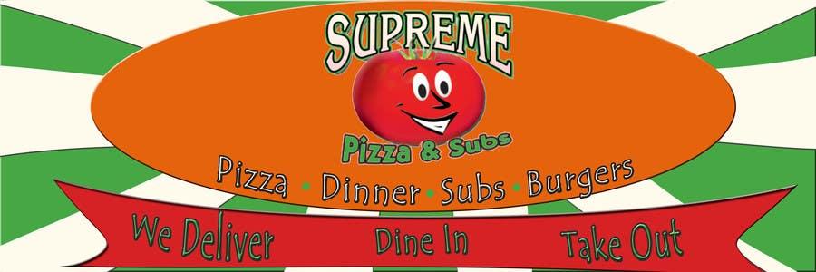 Bài tham dự cuộc thi #                                        86                                      cho                                         Design a sign for a pizzeria