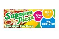 Bài tham dự #74 về Graphic Design cho cuộc thi Design a sign for a pizzeria