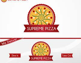 #99 para Design a sign for a pizzeria por cornelee