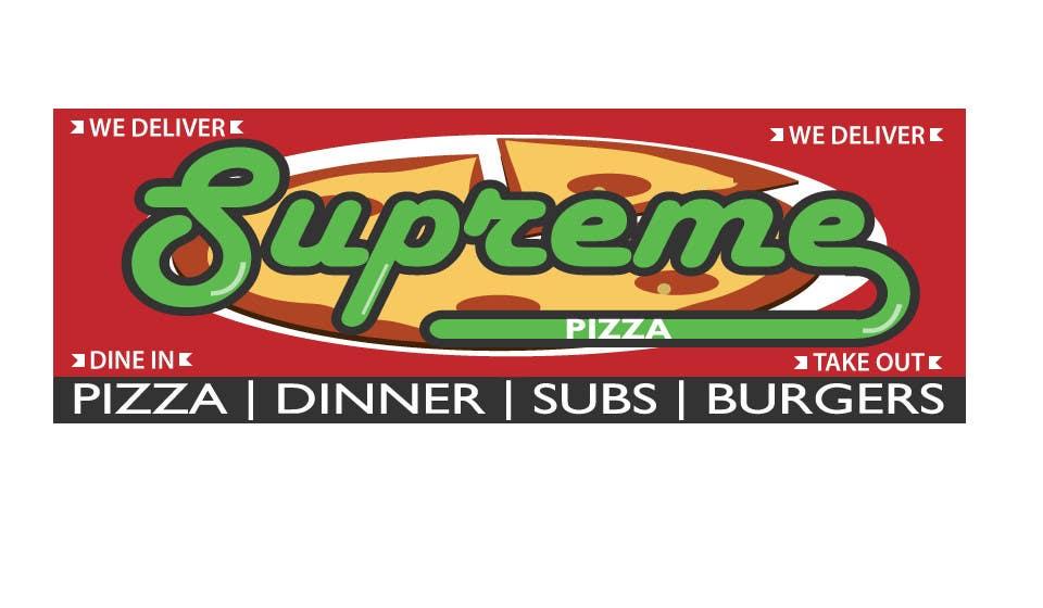 Bài tham dự cuộc thi #                                        27                                      cho                                         Design a sign for a pizzeria