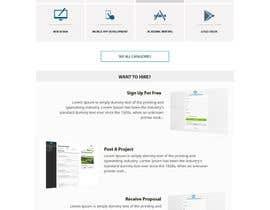 #12 for Design a 7 Page Mockup For A Bidding SIte av netdevbiz