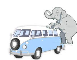 #9 for Logo Design - Elephant mounting a Kombi van by developingtech