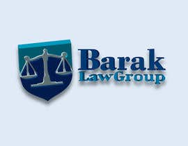 #322 para Logo Design for Barak Law Group por DeakGabi