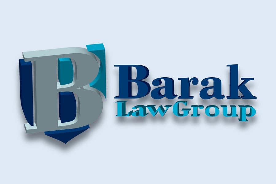 Inscrição nº                                         318                                      do Concurso para                                         Logo Design for Barak Law Group