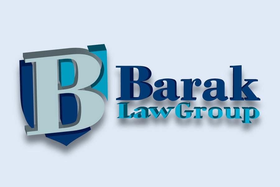 Inscrição nº                                         317                                      do Concurso para                                         Logo Design for Barak Law Group
