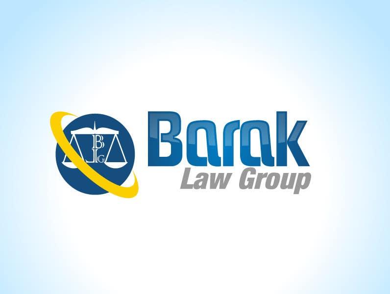 Inscrição nº                                         310                                      do Concurso para                                         Logo Design for Barak Law Group