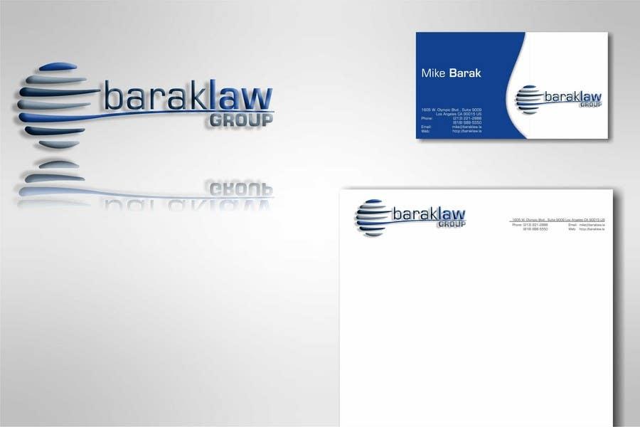 Inscrição nº                                         295                                      do Concurso para                                         Logo Design for Barak Law Group