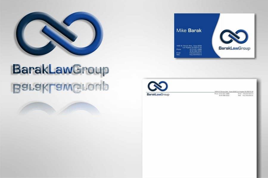 Inscrição nº                                         296                                      do Concurso para                                         Logo Design for Barak Law Group