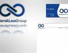 #296 untuk Logo Design for Barak Law Group oleh catalin214