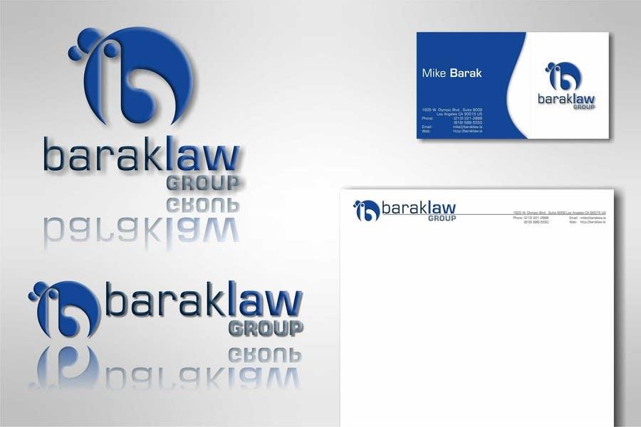 Inscrição nº                                         290                                      do Concurso para                                         Logo Design for Barak Law Group