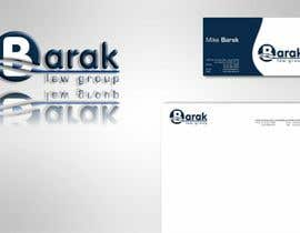 #294 para Logo Design for Barak Law Group de catalin214
