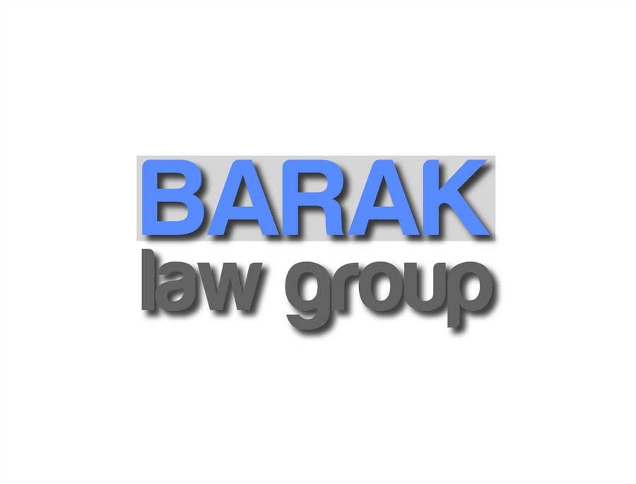 Inscrição nº                                         320                                      do Concurso para                                         Logo Design for Barak Law Group
