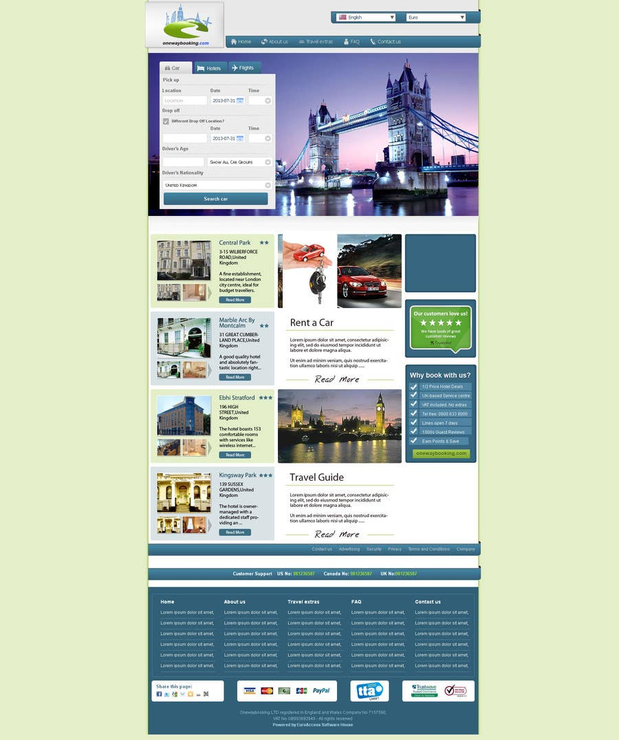 Inscrição nº                                         4                                      do Concurso para                                         Design a Website Mockup for Landing Pages