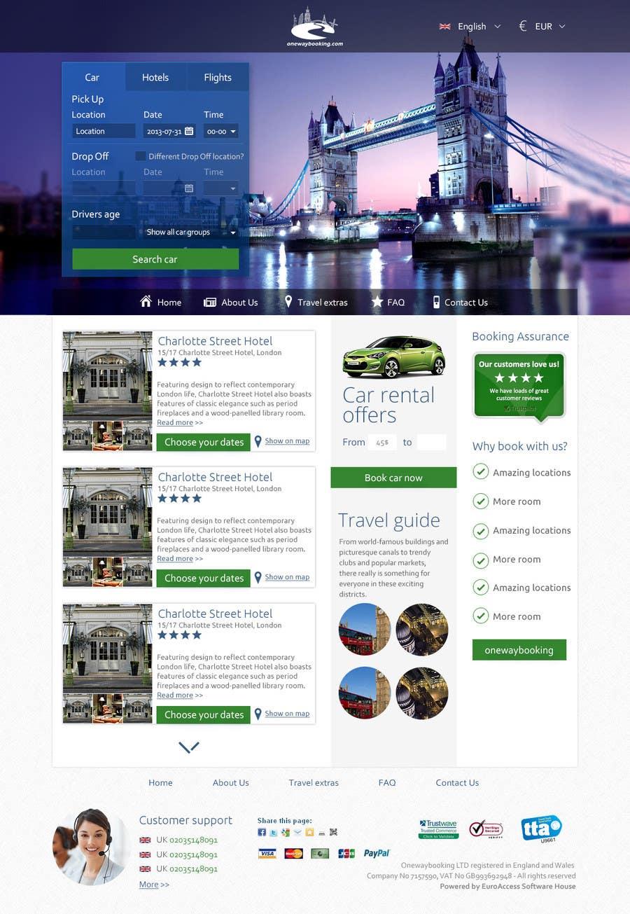 Inscrição nº                                         10                                      do Concurso para                                         Design a Website Mockup for Landing Pages