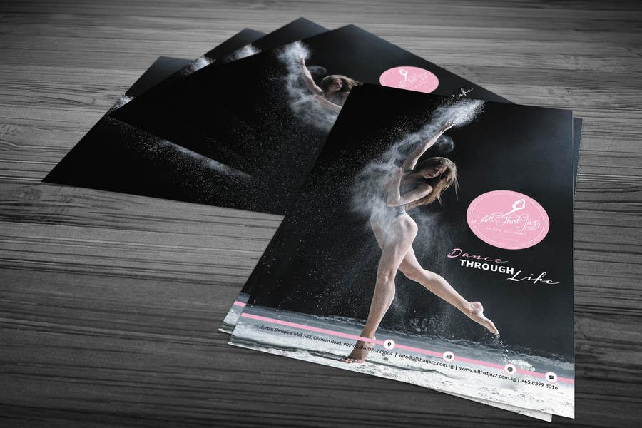 Design 4 Flyers For A Dance School Freelancer