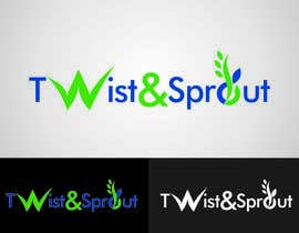 "vitalblaze tarafından Design a Logo for Online Health Food Store - Organic food  ""Twist and Sprout"" BIG bonus for awesome designs - and future WORK için no 28"