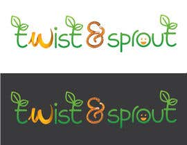 "anamiruna tarafından Design a Logo for Online Health Food Store - Organic food  ""Twist and Sprout"" BIG bonus for awesome designs - and future WORK için no 19"