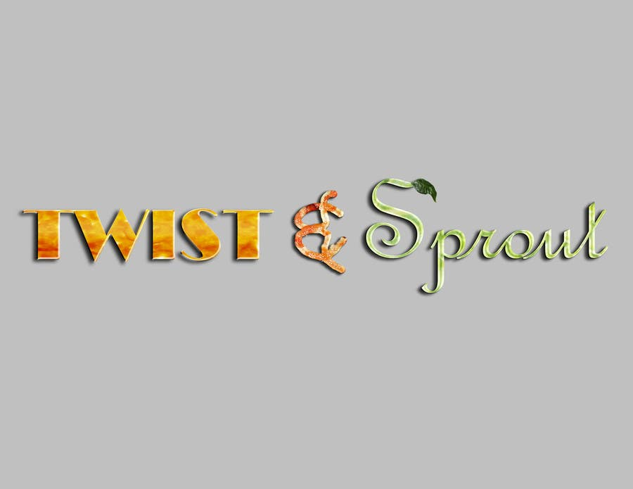 "#3 for Design a Logo for Online Health Food Store - Organic food  ""Twist and Sprout"" BIG bonus for awesome designs - and future WORK by RedDolch"