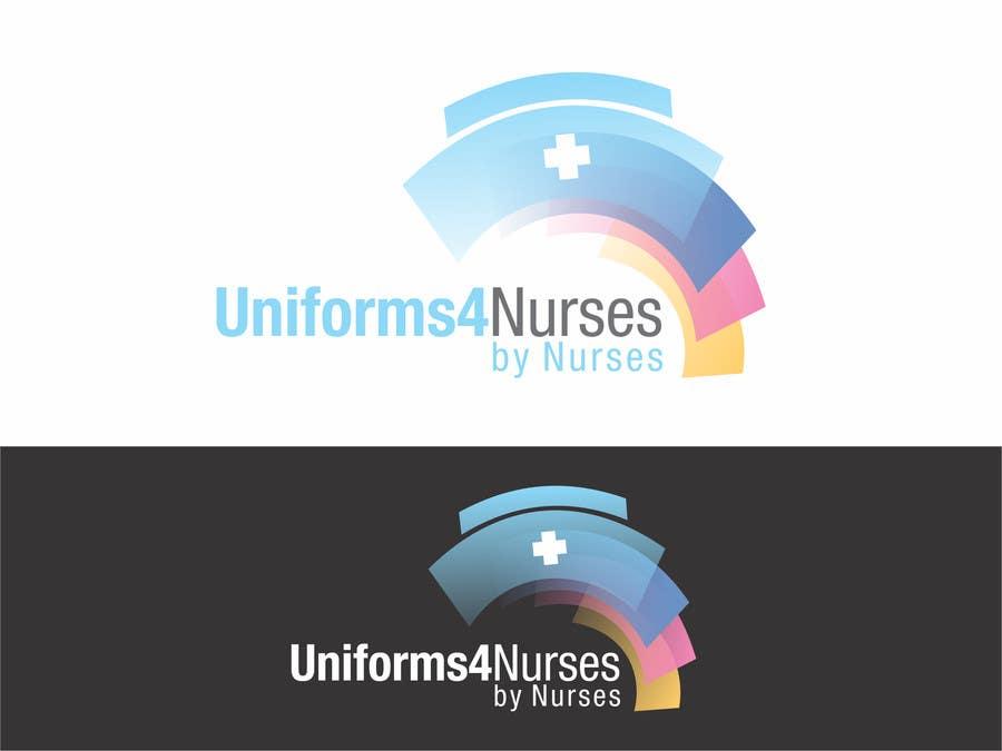 "Penyertaan Peraduan #40 untuk Design a Logo for Uniform Company ""Uniforms 4 Nurses, by Nurses"" (clothing company)"