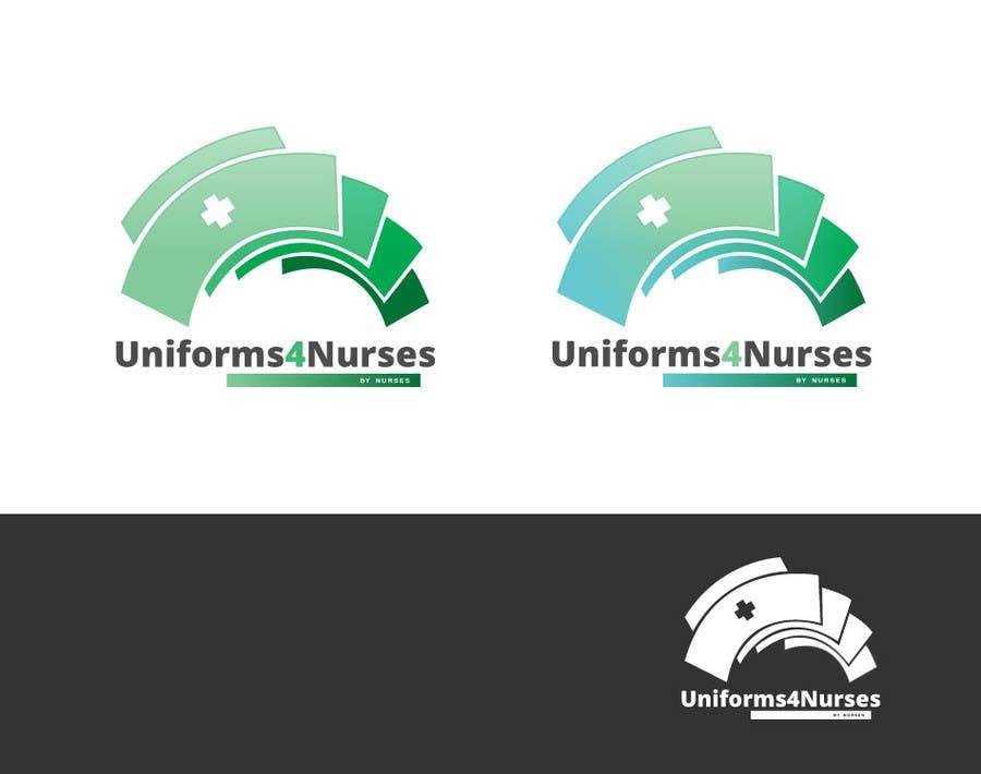 "Penyertaan Peraduan #42 untuk Design a Logo for Uniform Company ""Uniforms 4 Nurses, by Nurses"" (clothing company)"