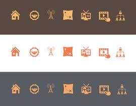 #26 para Icon Design for Navigation Menu based on Logo de sagarjadeja