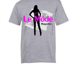 nº 137 pour T-shirt Design for Le Mode Magazine par susanousiainen