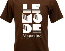 nº 162 pour T-shirt Design for Le Mode Magazine par Wariouzs