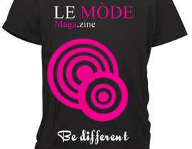 nº 143 pour T-shirt Design for Le Mode Magazine par Wariouzs