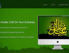 #16 para Design a Banner for Arabicclasses.org por arunnm89