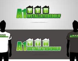 #19 untuk Logo for A1 Installatiebedrijf oleh groenter565
