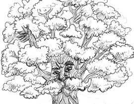 #17 para Illustrate an Oak tree with Character por nilaabh