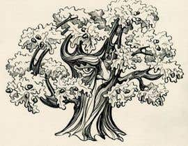 #20 para Illustrate an Oak tree with Character por lausta