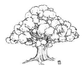 #4 for Illustrate an Oak tree with Character by BanochkaGraphics